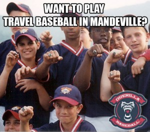 Travel Baseball Mandeville Louisiana
